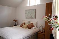 Bedroom with super king size double bed