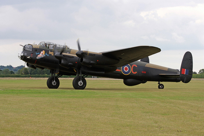 Avro Lancaster Just Jane – holiday cottage